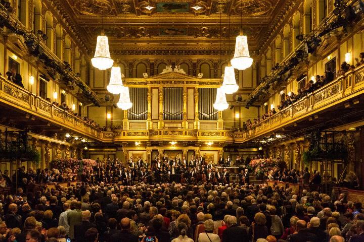 Musikverein Wien, Austria.