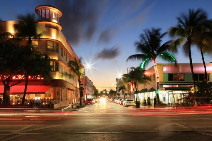 Ocean Drive, Miami. Foto Eric Hudson.