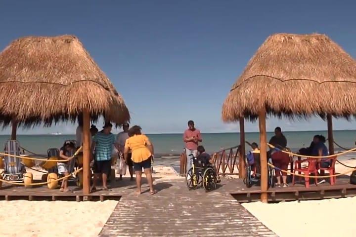 Palapa y Rampa. Foto Yucatán en Corto.