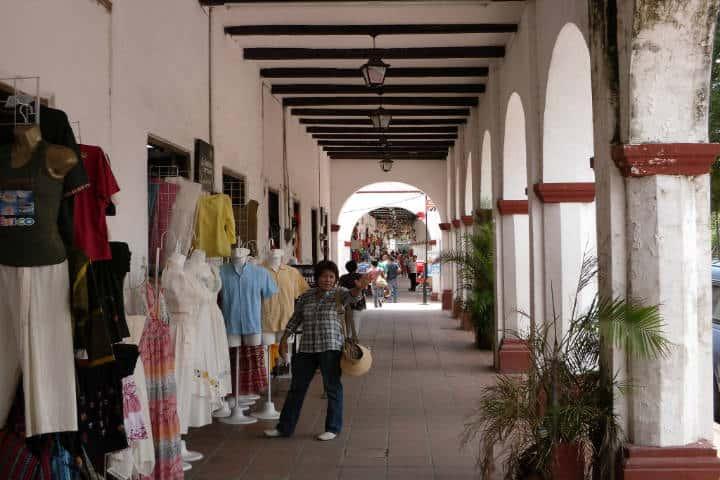 Portales en Chiapa de Corzo. Foto Carlos Manuel Citalán Mar
