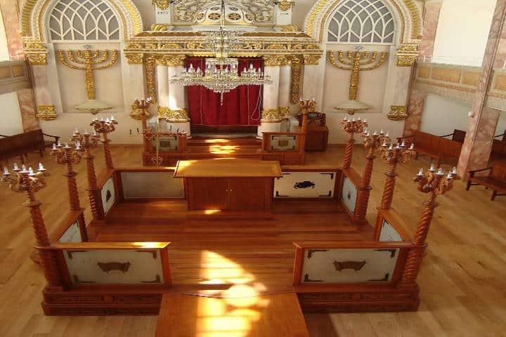 Primera sinagoga Ashkenazi. Foto Mes de los Museos Ciudad de México