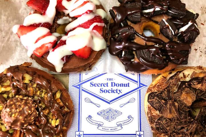 Restaurantes inusuales en CDMX Foto The Secret Donut