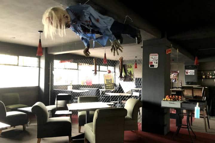 Restaurantes inusuales en CDMX Foto Zombie Diner
