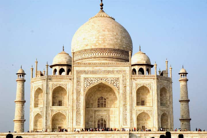 Taj Mahal Foto Paul Asman and Jill Lenoble