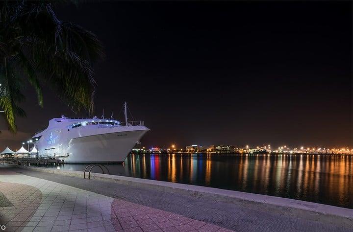 Yate en Miami. Foto Arq. Alex Toro.