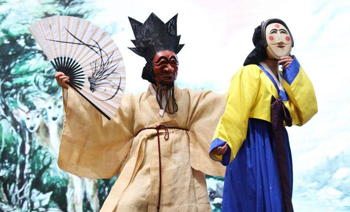 Talk talk Korea Foto: Mascaras Coreanas
