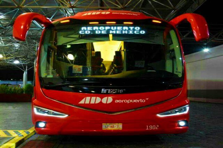 Autobuses ADO. Foto Jorge Chimely.
