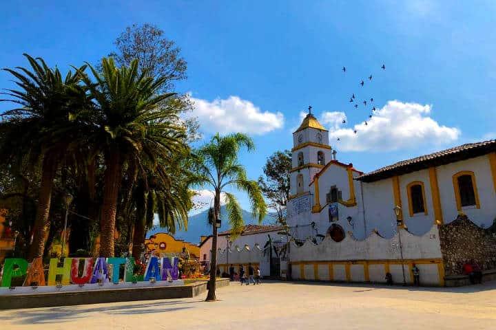 Cómo llegar a Pahuatlán Foto Municipios Puebla