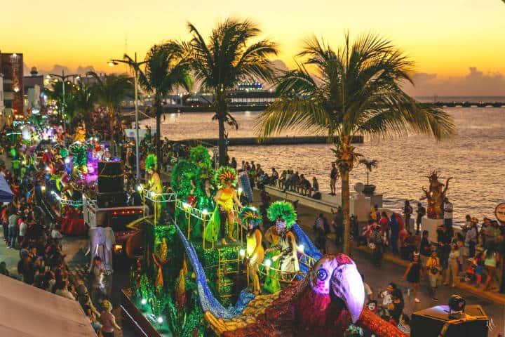 Carnaval Cozumel 2020. Foto: Carnaval de Isla Cozumel