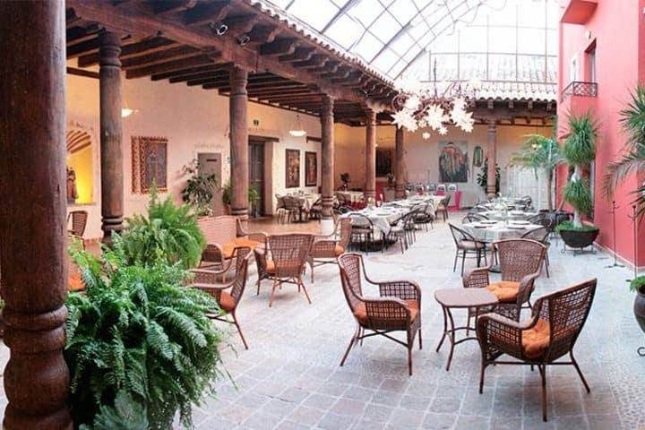 Hotel Misión San Cristóbal de las Casas. Foto Volando.Viajes