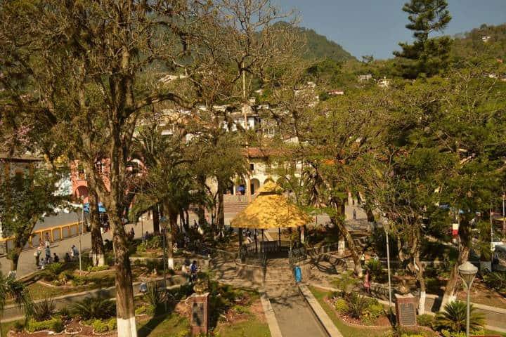 Centro de Pahuatlán. Foto Pahuatlán Pueblo Mágico