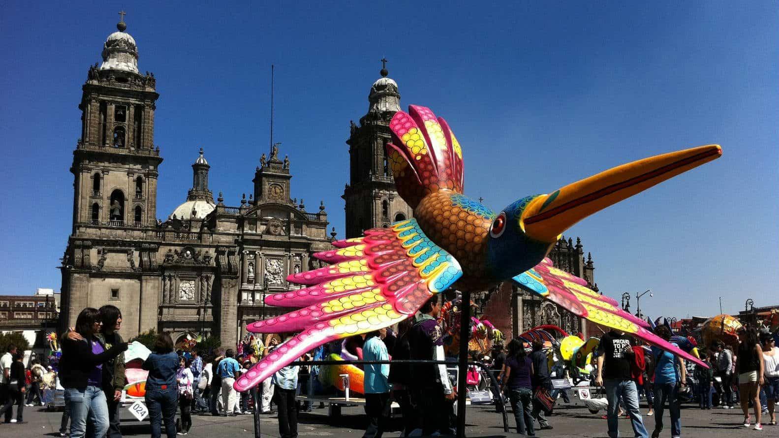 Ciudad de Mexico 2020 Foto Archivo