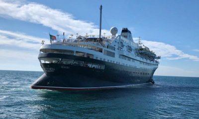 Puerto Peñasco primer crucero Foto: Cortesía
