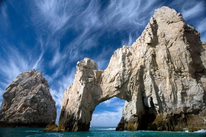 Crucero por el mar de Cortés. Arco de Cabo San Lucas