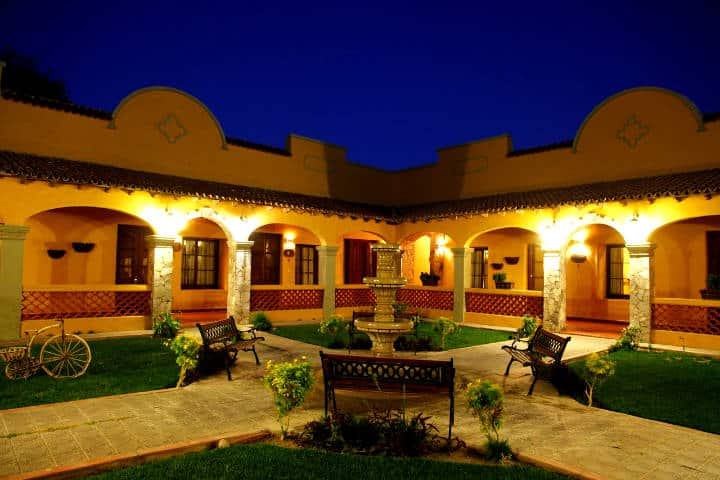 Dónde hospedarse en Cuatro Ciénegas Foto Hotel Misión Marielena