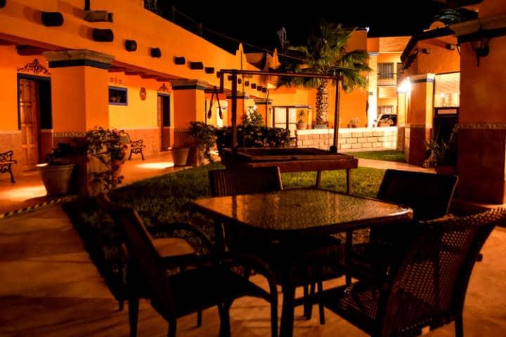 Hotel Plaza. Foto: Hotel Plaza Cuatro Ciénegas