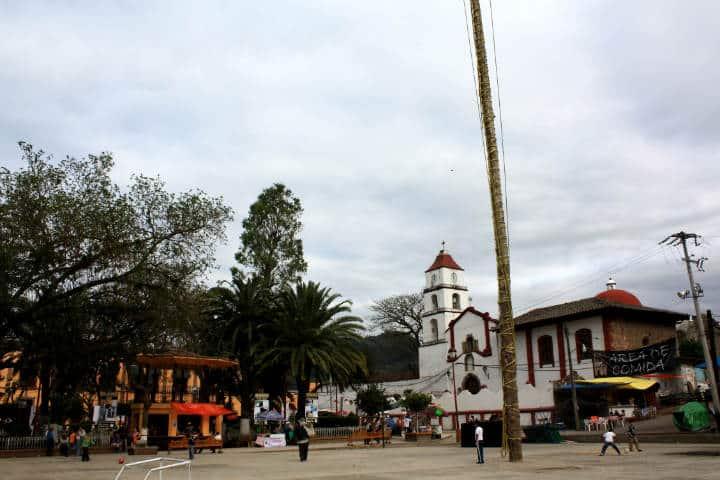 Dónde hospedarse en Pahuatlán Foto David Cabrera