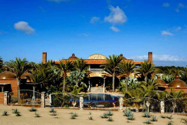Dónde hospedarse en Todos Santos Foto Hacienda Todos Santos