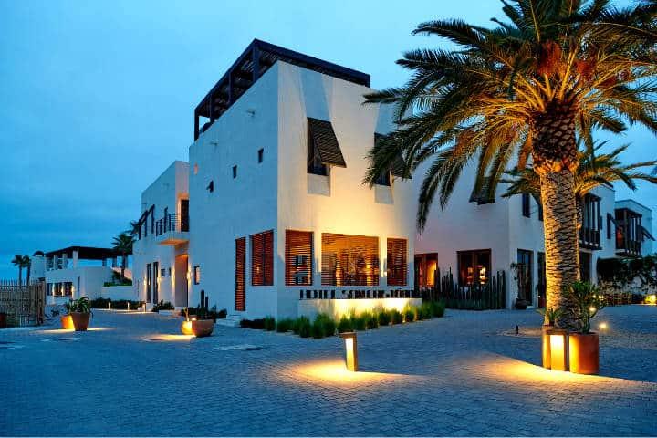 Dónde hospedarse en Todos Santos Foto Hotel San Cristobal