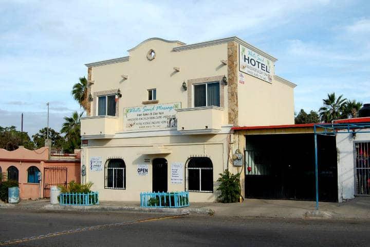 Dónde hospedarse en Todos Santos Foto The white sand hotel and spa