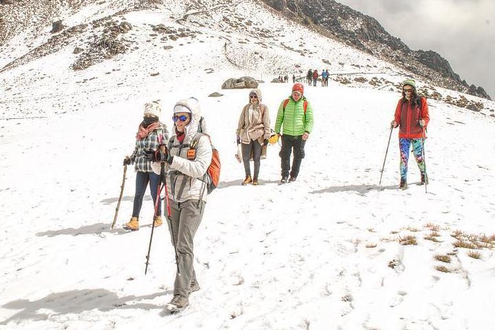 Ecoturismo en el nevado de Colima. Actividades