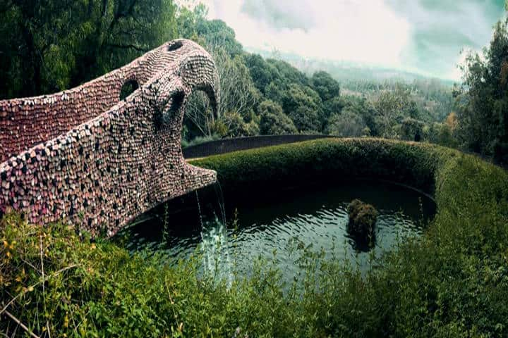 Datos curiosos del nido de Quetzalcóatl. Estanque. Foto: Abi Xinia
