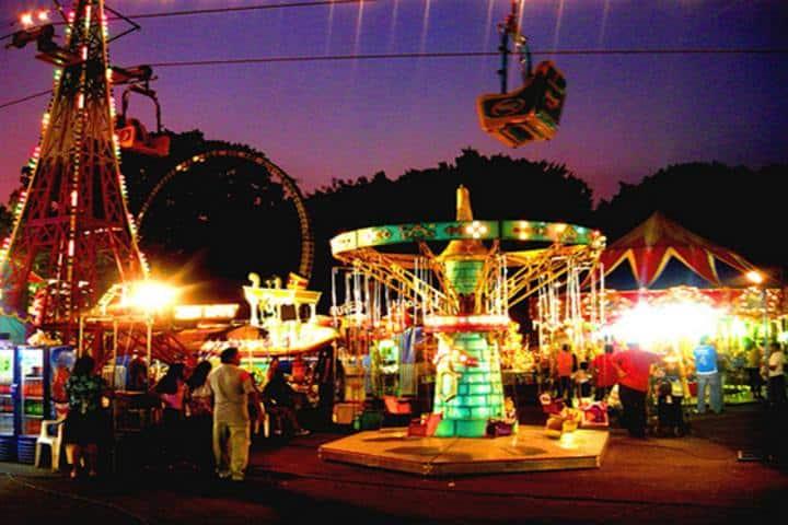 Feria de la primavera. San Cristóbal de las casas. Foto El viajero fisgón
