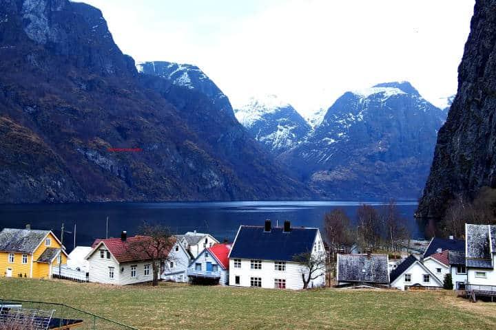 Fiordos noruegos Foto Ann HS.