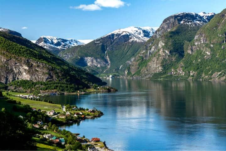 Fiordos noruegos Foto Markus Trienke