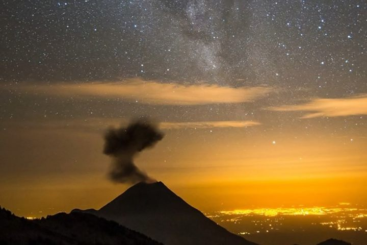 Ecoturismo en el nevado de Colima. Foto: Cristian Villicaña