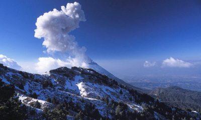 Nevado de Colima Foto:Gobierno de México