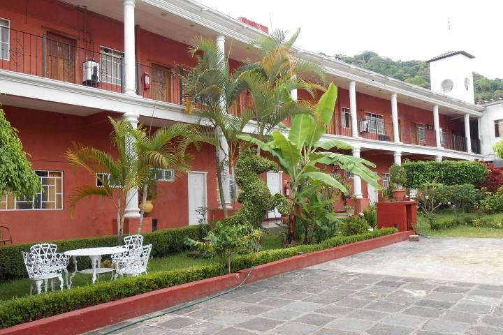 Guía completa qué hacer en Pahuatlán. Hotel Jardín. Foto: Archivo