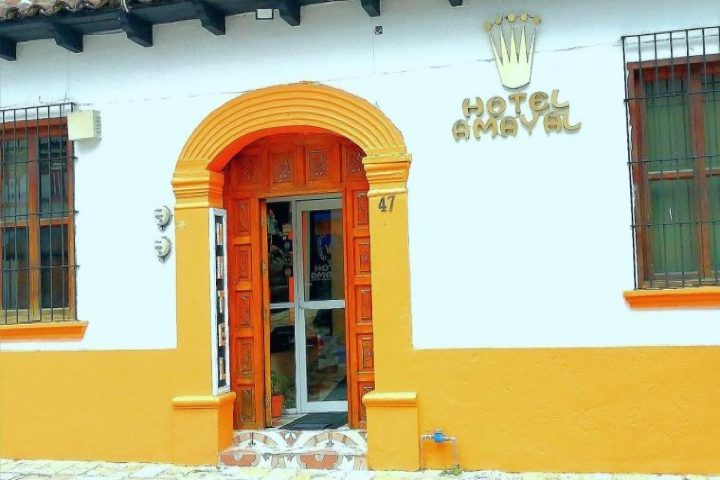 Hotel Amayal. Foto Booked.mx.