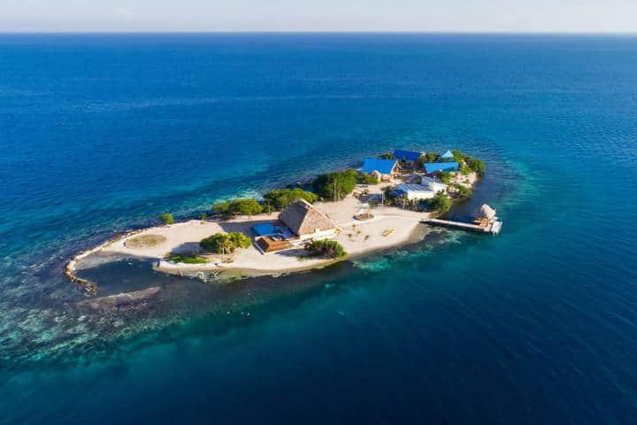 Islas que se pueden rentar para vacacionar. Isla Kanu. Foto: Kanu Private Island