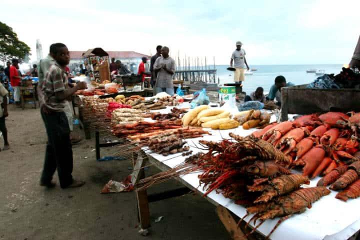 Isla Zanzíbar Foto Tak