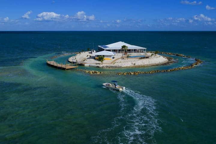Rentar una isla