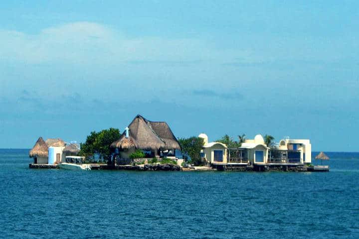 Islas que se pueden rentar para vacacionar. Islas del Rosario. Foto: Ben Bowes