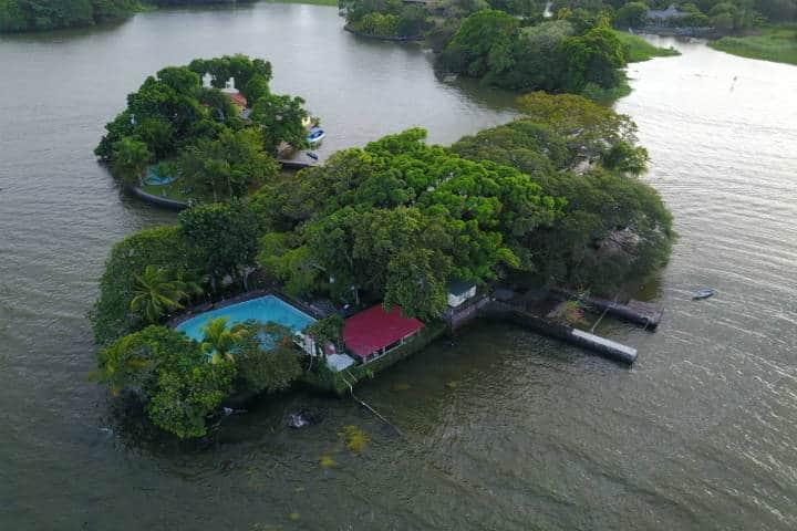 Islas que se pueden rentar para vacacionar. Isleta Tahití, Nicaragua. Foto: Isleta Tahiti