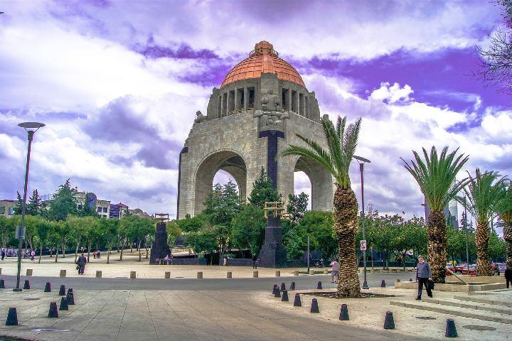 Monumento a la Revolución. Foto Daniel Jasso.