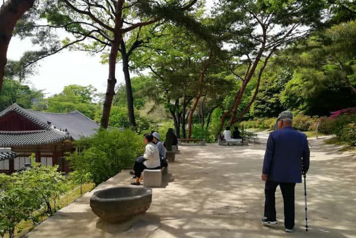 Palacio Changgyeonggung Foto el Souvenir 1