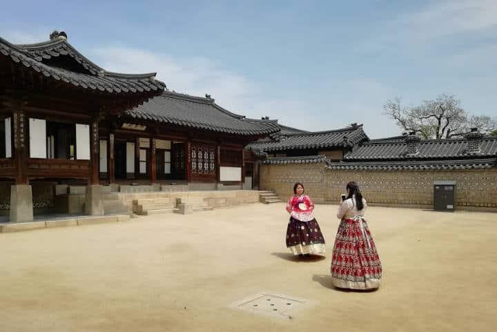 Palacio Changgyeonggung Foto el Souvenir 2