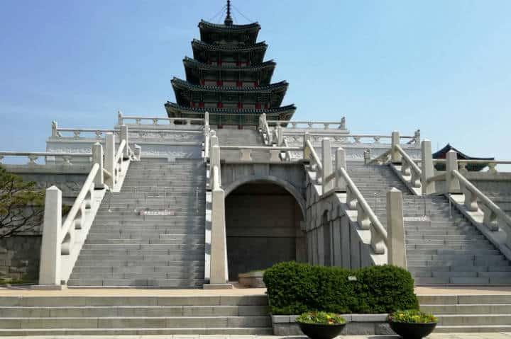 Palacio Gyeongbokgun Foto El Souvenir 14