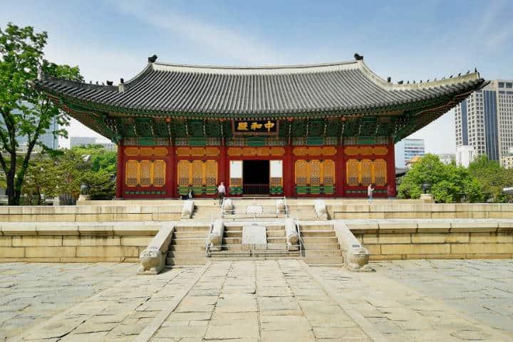 Palacio Gyeonghuigung Seúl Foto El Souvenir 1