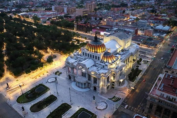 Palacio de Bellas Artes. Foto Ezequiel Octaviano.