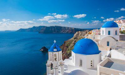 Santorini, la isla griega Foto: Pixabay