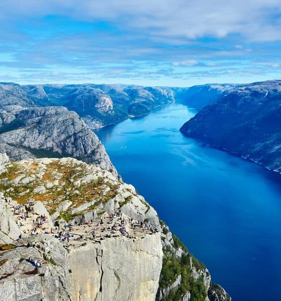 Fiordos noruegos. Foto: Pixabay
