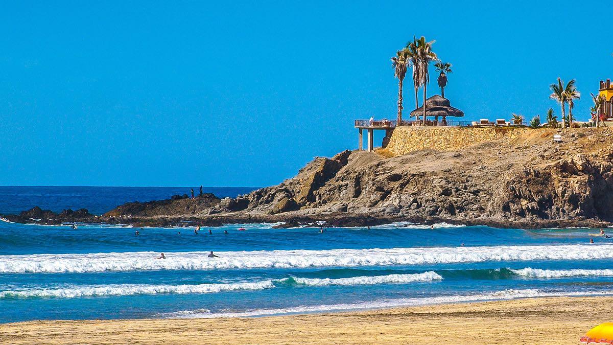 Playa Todos Santos. Foto Jesus Yanez