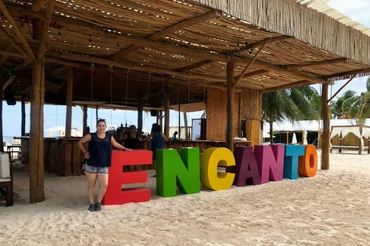 Playa del Carmen sin Sargazo Foto Encanto
