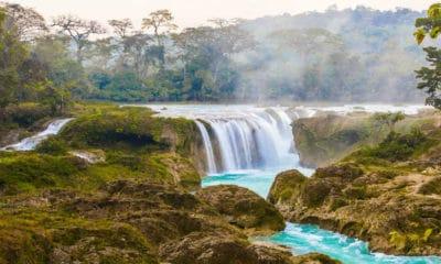 Portada. Cascadas Las Nubes en Chiapas.Foto.Altus Tours