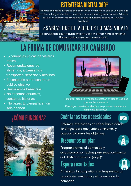 Publicidad en revista de Turismo digital El Souvenir 3